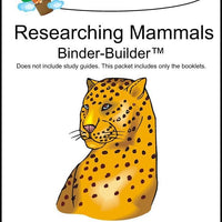 Researching Mammals Binder-Builder - A Journey Through Learning Lapbooks