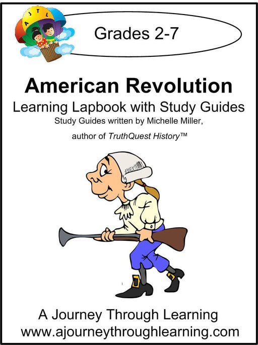 American Revolution Lapbook with Study Guide - A Journey Through Learning Lapbooks