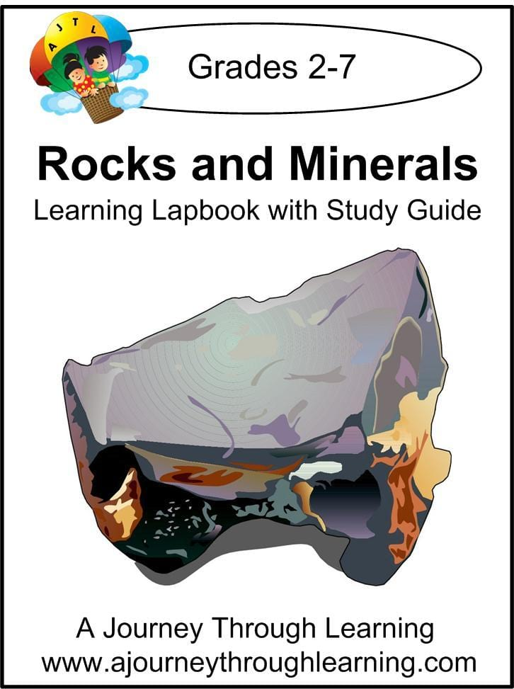 Rocks and Minerals Lapbook with Study Guide - A Journey Through Learning Lapbooks