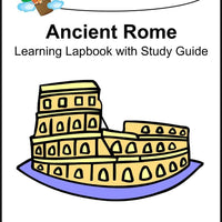 Ancient Rome Lapbook with Study Guide - A Journey Through Learning Lapbooks