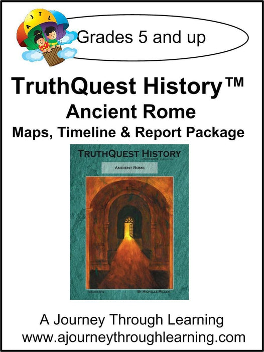 Ancient Rome Supplements $13-$18 - A Journey Through Learning Lapbooks