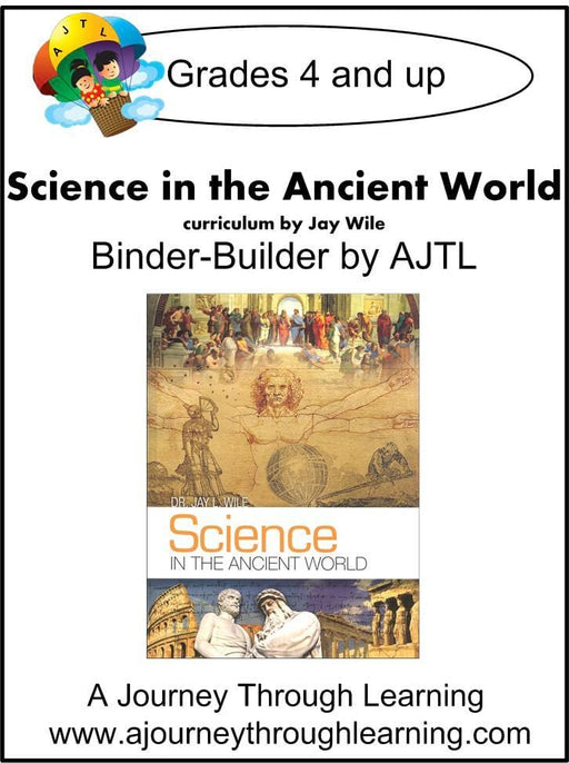 Jay Wile Science in the Ancient World Lapbook Binder Builder | A Journey Through Learning Lapbooks