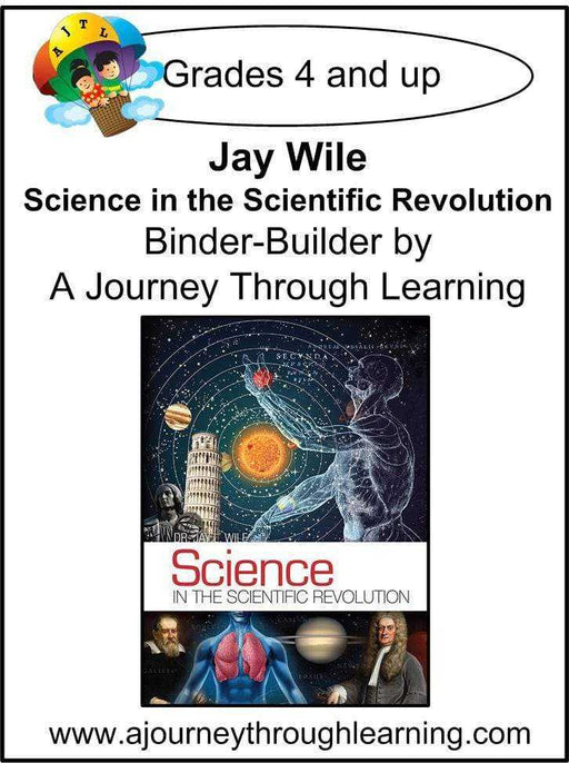 Jay Wile Science in the Scientific Revolution Lapbook Binder Builder - A Journey Through Learning Lapbooks