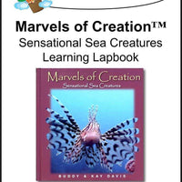 New Leaf Press- Marvels of Creation: Sensational Sea Creatures Lapbook - A Journey Through Learning Lapbooks