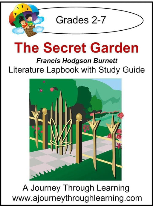 Secret Garden Lapbook - A Journey Through Learning Lapbooks