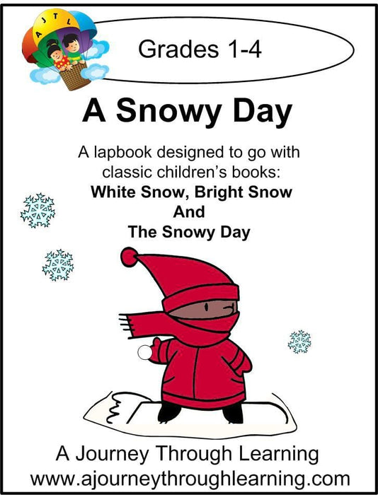 Snowy Day Lapbook | A Journey Through Learning Lapbooks