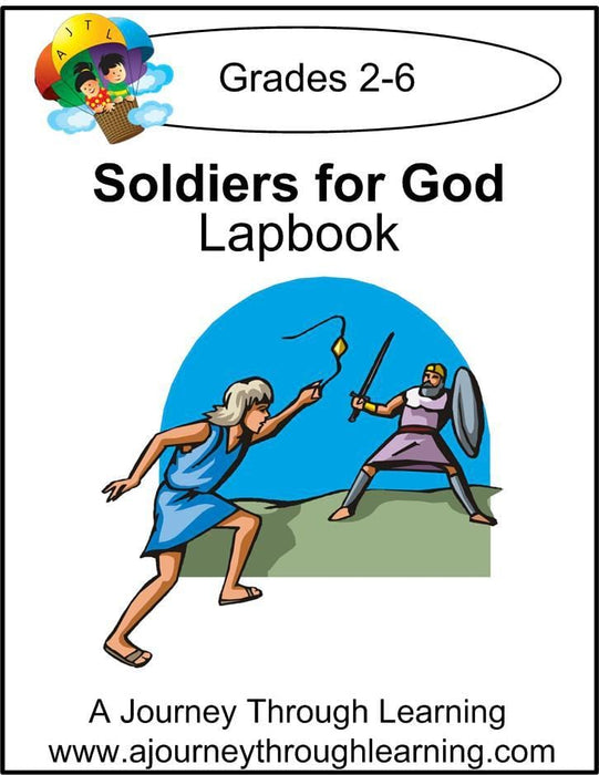Soldiers of God Express Lapbook - A Journey Through Learning Lapbooks