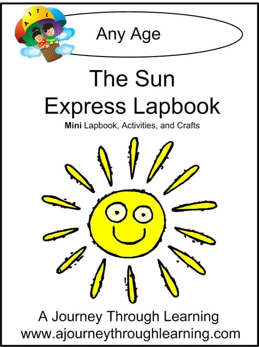 Sun Express Lapbook - A Journey Through Learning Lapbooks