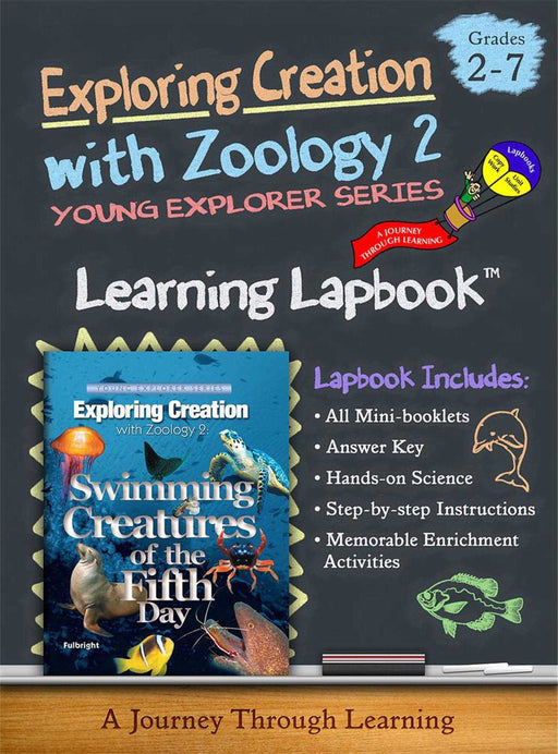 Swimming Creatures of the Fifth Day -Jeannie Fulbright/Apologia-Zoology 2 Lapbook - A Journey Through Learning Lapbooks