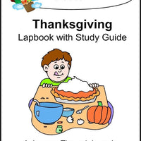 Thanksgiving Lapbook with Study Guide - A Journey Through Learning Lapbooks