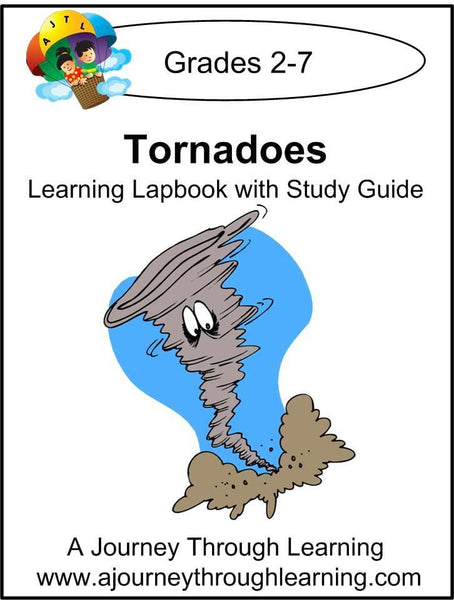 Tornadoes Lapbook with Study Guide - A Journey Through Learning Lapbooks