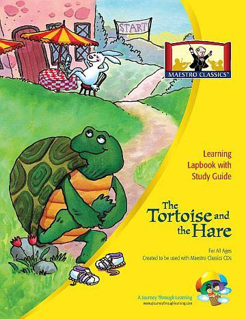 Mastro Classic's Tortoise and the Hare Lapbook - A Journey Through Learning Lapbooks