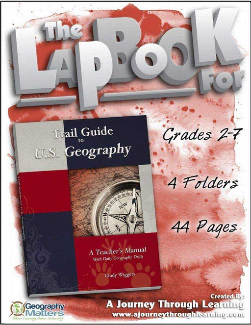Trail Guide to U.S. Geography Lapbook - A Journey Through Learning Lapbooks