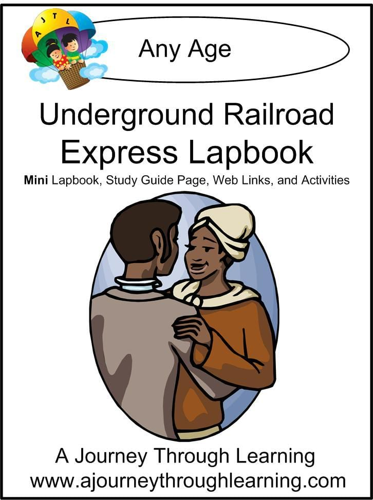 Underground Railroad Express Lapbook - A Journey Through Learning Lapbooks