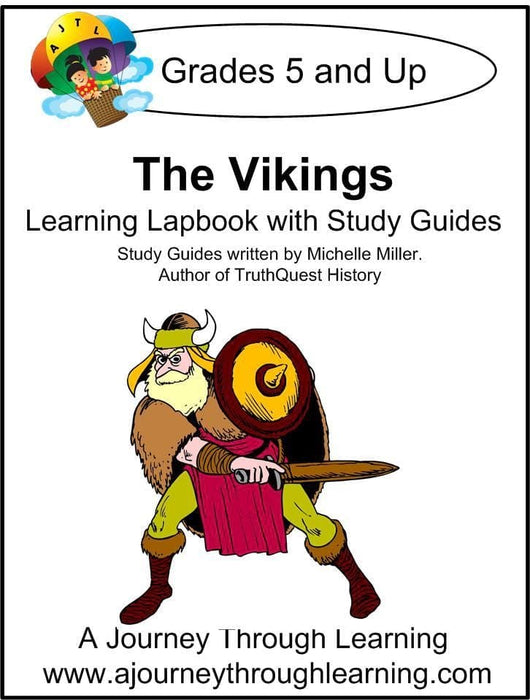 Vikings Lapbook with Study Guide | A Journey Through Learning Lapbooks