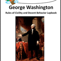 George Washington's Rules of Civility and Decent Behavior Lapbook - A Journey Through Learning Lapbooks