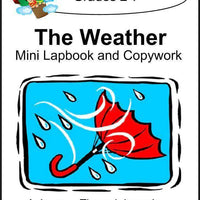 Weather Lapbook with Study Guide and Copywork - A Journey Through Learning Lapbooks