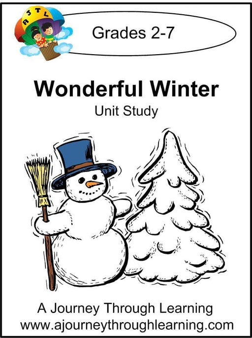 Wonderful Winter Unit Study | A Journey Through Learning Lapbooks
