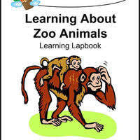 Learning About Zoo Animals Lapbook - A Journey Through Learning Lapbooks