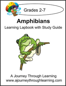Amphibians Lapbook with Study Guide - A Journey Through Learning Lapbooks