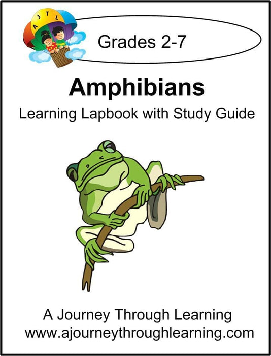 Amphibians Lapbook with Study Guide | A Journey Through Learning Lapbooks