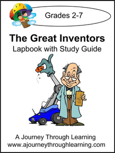 Inventors Lapbook with Study Guide - A Journey Through Learning Lapbooks