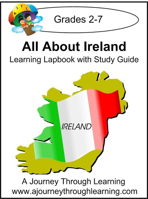 Ireland Lapbook with Study Guide - A Journey Through Learning Lapbooks