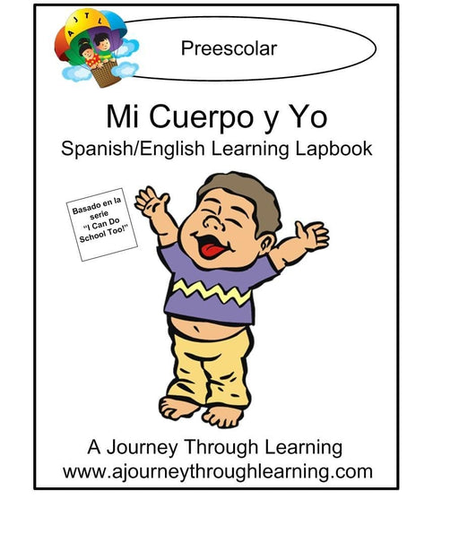 Mi Cuerpo y Yo (Me and My Body) Lapbook with Study Guide - A Journey Through Learning Lapbooks