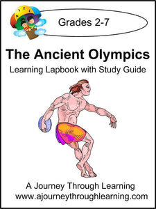 Ancient Olympics Lapbook with Study Guide - A Journey Through Learning Lapbooks