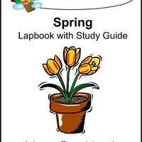 Spring Lapbook with Study Guide - A Journey Through Learning Lapbooks