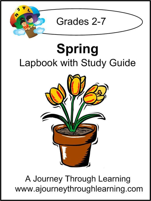 Spring Lapbook with Study Guide | A Journey Through Learning Lapbooks