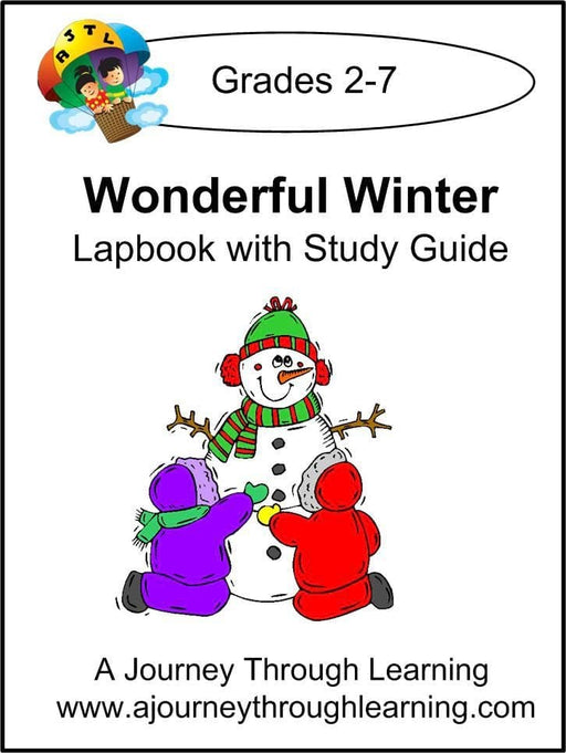 Wonderful Winter Lapbook with Study Guide | A Journey Through Learning Lapbooks