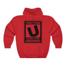 Rated U for Unbothered (Hoodie Back)