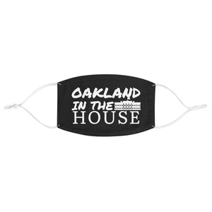"""OAKLAND IN THE WHITE HOUSE IMAGE"" MASK (ADJUSTABLE)"