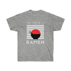 Ramen Tshirt, Funny Tshirt, Novelty Shirt, Humor Shirt, Food Shirt, Unisex Tee, Japanese Food