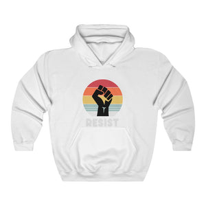 Resist Hoodie, Political Shirts, Protester Shirts, Anti Trump Shirt, Rebel, Cool Shirt, Anti Government, Unisex Graphic Hooded Sweatshirt