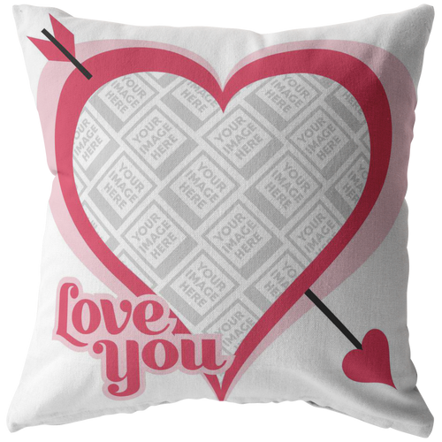 Love You Personalized Pillow