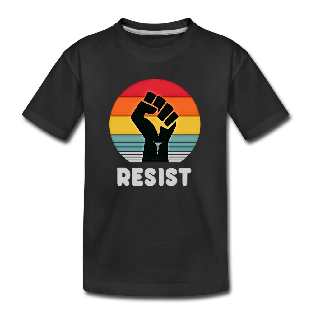 Resist Tee Youth - black