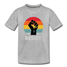 Resist Tee Youth - heather gray