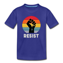 Resist Tee Youth - royal blue