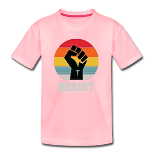 Resist Tee Youth - pink