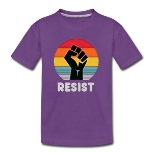 Resist Tee Youth - purple