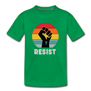 Resist Tee Youth - kelly green