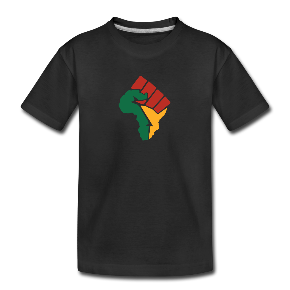 African Colors Fist (Youth) - black