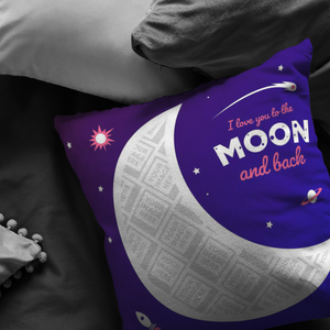 Moon Personalized Pillow
