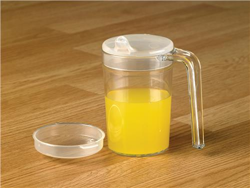Homecraft Shatterproof Mug, with Spout and Recessed Lids, 400ml