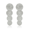 Apollo Statement Earrings - Silver