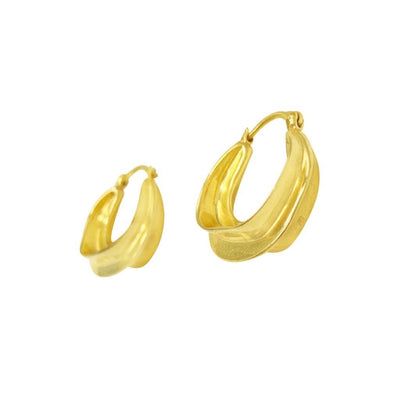 Picasso Hoops - Gold