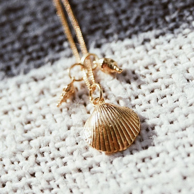 California Shells Layering Necklace