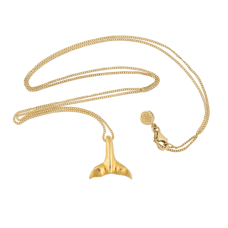 Alaska Mermaid Tail Layering Necklace - Gold